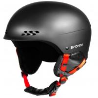 Slidinėjimo šalmas Spokey ROBSON, juodas Ski helmets