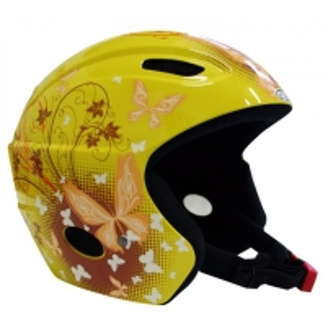 Slidinėjimo šalmas WORKER MERIBEL, Spalva geltona, Dydis M (54-58) Ski helmets