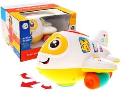 Smagus interaktyvus lėktuvas mažyliams Muzikālā rotaļlietas