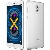 "Smart phone Huawei Honor 6X Silver, 5.5 "", LTPS IPS LCD, 1080 x 1920 pixels, HiSilicon Kirin, 655, Internal RAM 3 GB, 32 GB, microSD, Dual SIM, Nano-SIM, 3G, 4G, Main camera Dual 12+2 MP, Second camera 8 MP, Android, 6.0, 3340 mAh, Warranty"