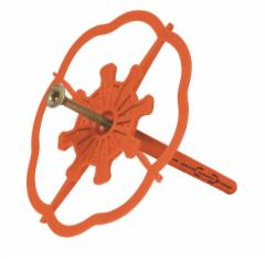 Smeigės Baumit StarTrack Orange 300vnt Growing pins with a metal shank