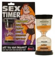 Smėlio laikrodis Hourglass Sex Timer Išdykę niekučiai