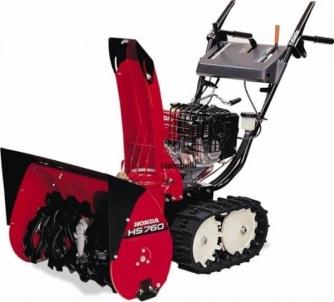 Snow Plow petrol Honda HS 760 ET Snow ploughs