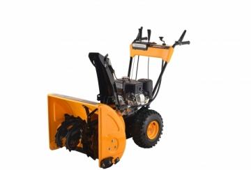 Petrol self-propelled snow plow GardenPro KC624S Snow ploughs