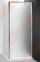 Šoninė dušo sienelė ROLTECHNIK PROXIMA LINE PXBN/70 durims PXDO1N ir PXD2N su brillant spalvos profiliu ir satinato stiklu