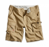 Šortai Surplus Trooper shorts washed Coyote