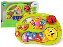Spalvinga pianinko armonika Magic ZA0640 Musical toys