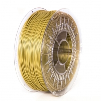 Spausdinimo gija Filament DEVIL DESIGN / ABS / GOLD / 1,75 mm / 1 kg. 3D spausdintuvai