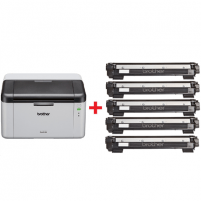 Spausdintuvas Brother HL1210WVBZW2 Mono, Laser, Printer, Wi-Fi, A4, White Laser printers