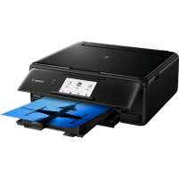 Spausdintuvas Canon Multifunctional printer PIXMA IJ MFP TS8150 Colour, Inkjet, All-in-One, A4, Wi-Fi, Black