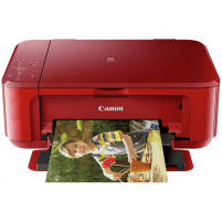 Printer Canon Multifunctional printer PIXMA MG3650S Colour, Inkjet, All-in-One, A4, Wi-Fi, Red Multifunction printers
