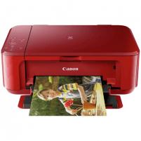 Spausdintuvas Canon Multifunctional printer PIXMA MG3650S Colour, Inkjet, All-in-One, A4, Wi-Fi, Red Daugiafunkciniai spausdintuvai