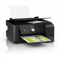 Spausdintuvas Epson 3 in 1 printer EcoTank L3160 Colour, Inkjet, All-in-one, A4, Wi-Fi, Black