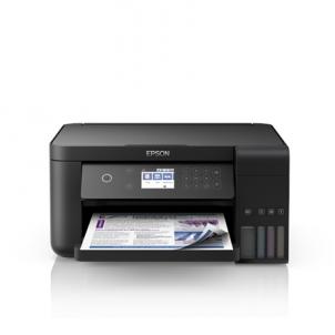 Spausdintuvas Epson All-in-One Ink Tank Printer L6160 Colour, Inkjet, Cartridge-free printing, A4, Wi-Fi, Black Daugiafunkciniai spausdintuvai
