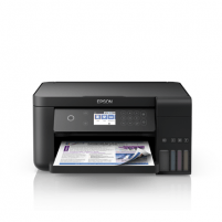Printer Epson All-in-One Ink Tank Printer L6160 Colour, Inkjet, Cartridge-free printing, A4, Wi-Fi, Black