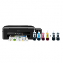 Printer Epson L382 Colour, Inkjet, Multifunction Printer, A4, Black Multifunction printers