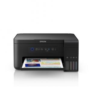 Spausdintuvas Epson Multifunctional printer L4150 Colour, Inkjet, Cartridge-free printing, A4, Wi-Fi, Black Daugiafunkciniai spausdintuvai