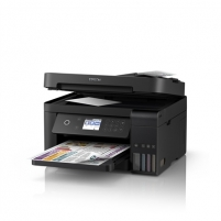 Printer Epson Multifunctional printer L6170 Colour, Inkjet, Cartridge-free printing, A4, Wi-Fi, Black Multifunction printers