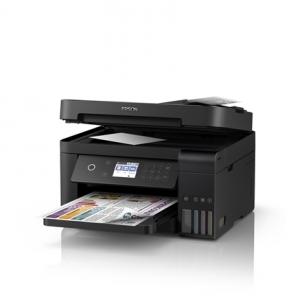 Spausdintuvas Epson Multifunctional printer L6170 Colour, Inkjet, Cartridge-free printing, A4, Wi-Fi, Black Daugiafunkciniai spausdintuvai