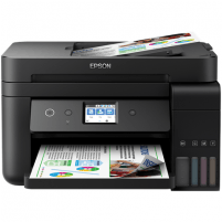 Printer Epson Multifunctional printer L6190 Colour, Inkjet, Cartridge-free printing, A4, Wi-Fi, Black