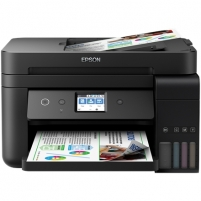 Printer Epson Multifunctional printer L6190 Colour, Inkjet, Cartridge-free printing, A4, Wi-Fi, Black Multifunction printers