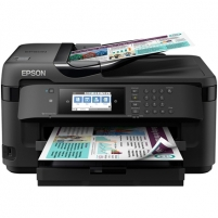 Spausdintuvas Epson Multifunctional printer WF-7710 Colour, Inkjet, All-in-One, A4, Wi-Fi, Black