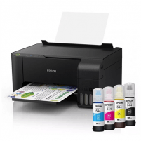 Printer Epson Printer EcoTank L1110 Colour, Micro Piezo technology, All-in-One, A4, Grey/Black Multifunction printers