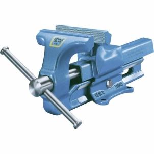 Spaustuvai Heuer 100100 Heuer parallel vice Jaw width:100 mm Span (clamping jaws):125 mm Skavas skavas