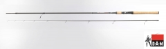 Spiningas DAM Whisler Ultra Light Jig 2.10M 2-12G 130G Spiningai