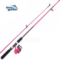Spiningas su rite Jarvis Walker Pink Zenith 1.8M Spinnings