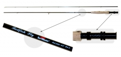 Spiningas Surf Master Red Fish Fly 2.44m