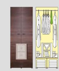 Wardrobe BR/1 Bruno furniture collection
