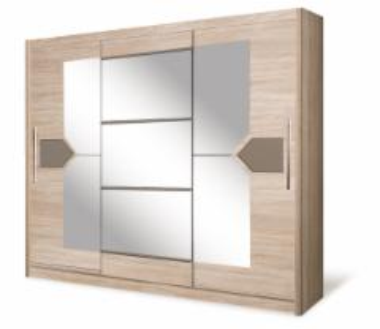 Spinta DO4-24 Спальня Шкафы