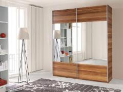 Spinta Vario su veidrodžiu Спальня Шкафы