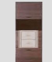 Garais skapis BR/3 Bruno mēbeļu kolekcija