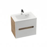 Cabinet po praustuvu Ravak SD Classic II, 600, capuccino/white Bathroom cabinets