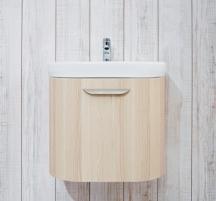 Cabinet vanity Deep By Jika, 65 cm, ash