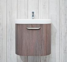 Cabinet vanity Deep by Jika 65 cm, Oak