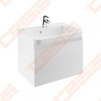Spintelė praustuvui RAVAK 10˚ SD 650 x 450 x 450 mm, baltos spalvos