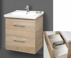 Cabinet with wash basin Riva SA 70C-1 sonoma