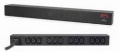 APC rack 19 Basic PDU, 1U, 16A/230V, 12 lizdų C13