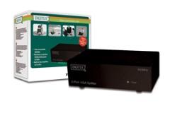 Spliteris Digitus 1xPC=>2xVGA, 400 MHz Monitor accessories