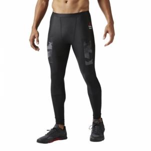 Sportinės kelnės Reebok CrossFit Tight Solid Vyriški sportiniai kostiumai