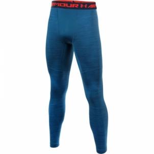 Sportinės kelnės Under Armour ColdGear® Armour Twist Compression Leggings Vyriški sportiniai kostiumai