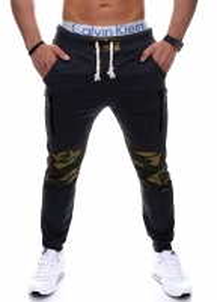 sportinio stiliaus kelnės Jamison (tamsiai pilkos) Vyriški sportiniai kostiumai