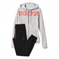 Sportinis kostiumas adidas Essential Linear Cotton W