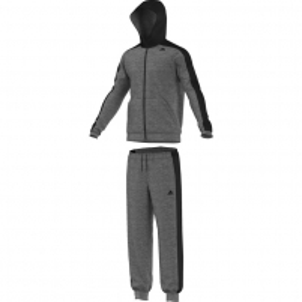 Sportinis kostiumas adidas Hooded Jogger M pilka Vyriški sportiniai kostiumai