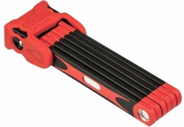 Spyna Abus Folding Bordo 6000/90+SH red / Dviračių spynos, užraktai