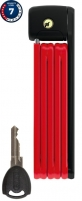 Spyna Abus Folding Bordo Lite 6055K/85 RD SH Dviračių spynos, užraktai