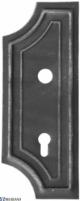 Spynos uždengimas Y kairinis, L13KZ048 Kalviškos rankenos, spynos, vyriai